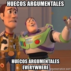buzz light - huecos argumentales huecos argumentales everywhere