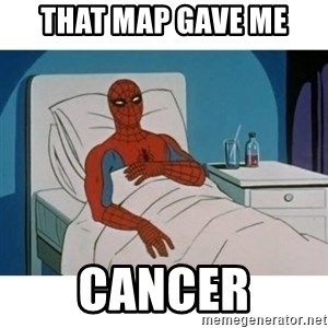SpiderMan Cancer - THAT MAP GAVE ME cancer