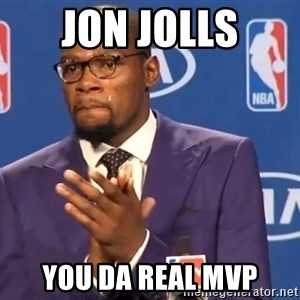 KD you the real mvp f - Jon Jolls You da real MVP