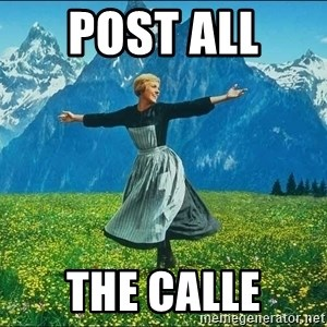 Look at all the things - Post all  the Calle