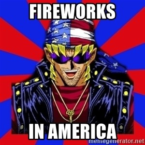 bandit keith - Fireworks In America