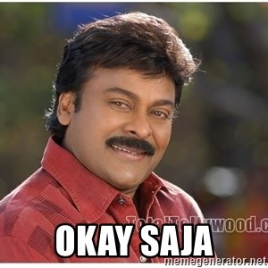 Typical Indian guy -  OKAY SAJA