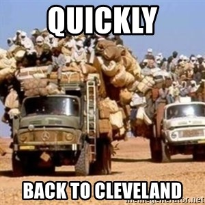 BandWagon - quickly back to cleveland