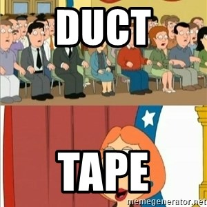 Lois Griffin - Duct tape