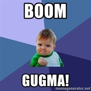 Success Kid - boom gugma!
