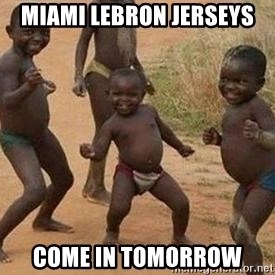african children dancing - Miami Lebron Jerseys COme in Tomorrow