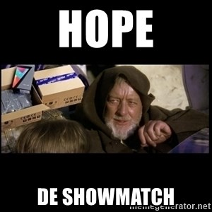 JEDI MINDTRICK - Hope de showmatch
