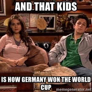 How i met your mother kids - AND THAT KIDS IS HOW GERMANY WON THE WORLD CUP