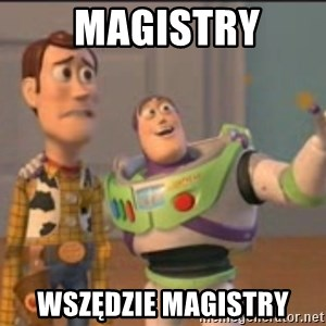 X, X Everywhere  -  MAGISTRY Wszędzie magistry