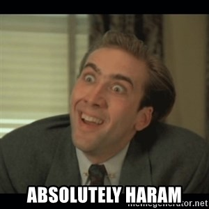 Nick Cage -  Absolutely Haram