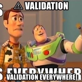 Xx Everywhere - ⚠ validation validation everywhere