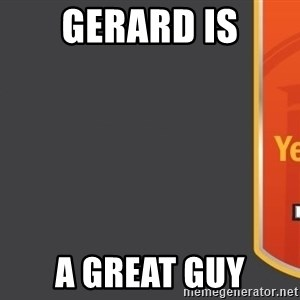 Tui Billboard - Gerard is A great guy