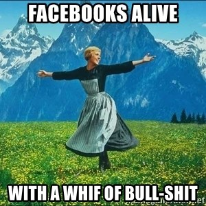 Look at all the things - facebooks alive with a whif of bull-shit