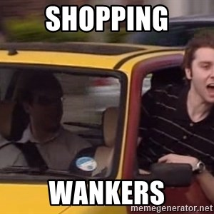Inbetweeners - SHOPPING WANKERS