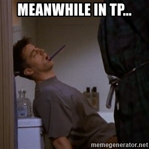 Bored sleeping Joey - meanwhile in tp...