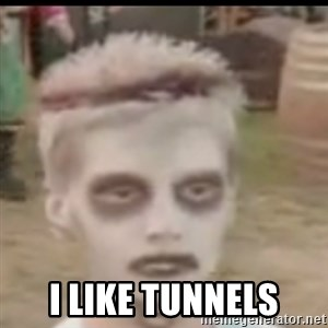 I like turtles  -  i like tunnels