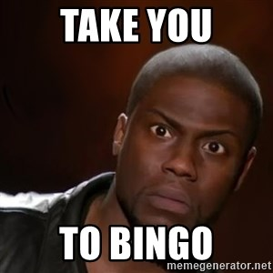kevin hart nigga - take you to bingo