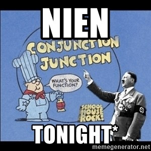 Grammar Nazi - NIEN tonight*