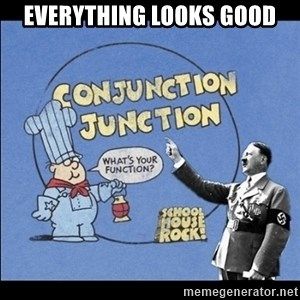 Grammar Nazi - Everything looks good