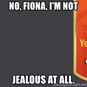 Tui Billboard - No, Fiona, I'm not jealous at all.