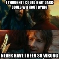 Never Have I Been So Wrong - i thought i could beat dark souls without dying never have i been so wrong