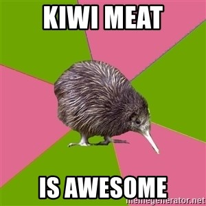 Choir Kiwi - KIWI MEAT IS AWESOME
