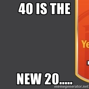 Tui Billboard - 40 is the new 20.....