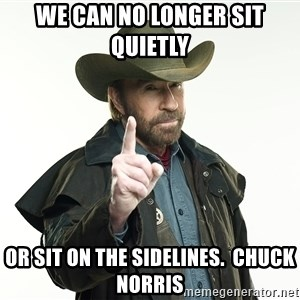 chuck norris cowboy hat - We can no longer sit quietly  or sit on the sidelines.  Chuck Norris