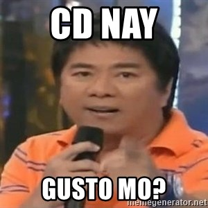willie revillame you dont do that to me - CD nay  gusto mo?
