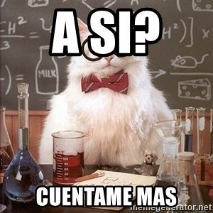 Chemistry Cat - a si?   cuentame mas