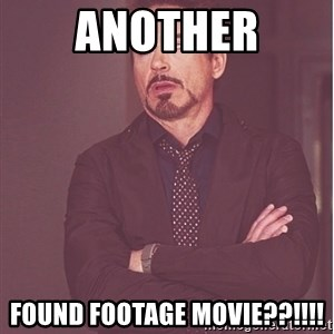 Robert Downey Junior face - another found footage movie??!!!!