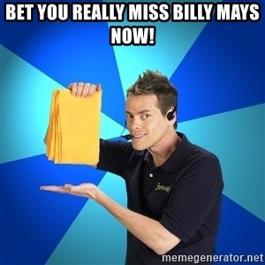 Shamwow Guy - Bet You Really Miss Billy Mays Now!