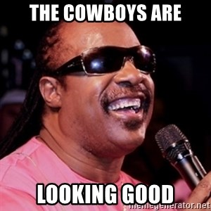 stevie wonder - The Cowboys Are Looking Good