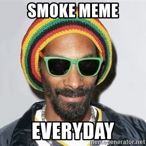 Snoop lion2 - smoke meme everyday