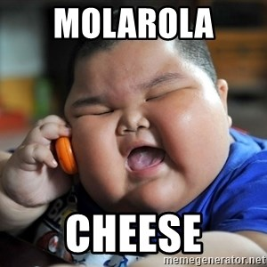 Fat Asian Kid - Molarola  Cheese