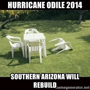 we will rebuild  - hurricane odile 2014 southern arizona will rebuild