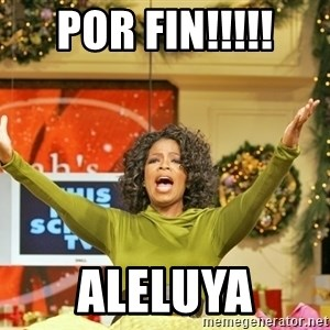 Oprah Gives Away Stuff - por fin!!!!! aleluya