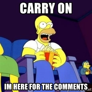 Homer Simpson Popcorn - carry on im here for the comments