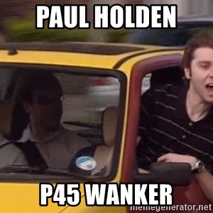 Inbetweeners - paul holden  p45 wanker