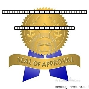 official seal of approval - ..........................................................