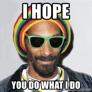 Snoop lion2 - I hope you do what I do