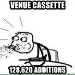 Cereal Guy Spit - venue cassette 128,620 additions