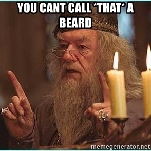 dumbledore fingers - You cant call *that* a beard