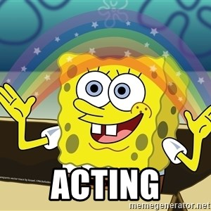 Spongebob Squarepants Imagination -  Acting