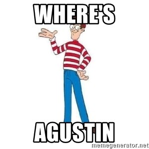 Where's Waldo - Where's Agustin
