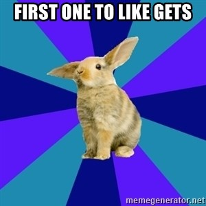 Reception Rabbit - First one to like gets