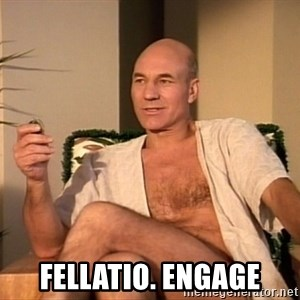 Sexual Picard -  fellatio. engage