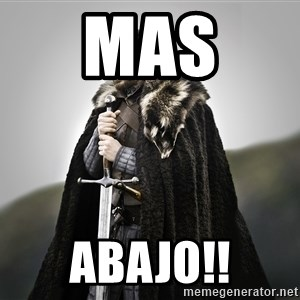 ned stark as the doctor - Mas  ABAJO!!