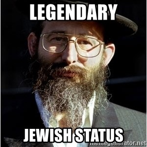 Like-A-Jew - legendary Jewish status
