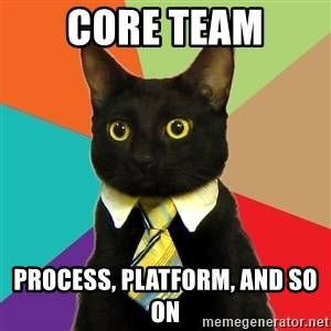 Business Cat - Core team Process, platform, and so on